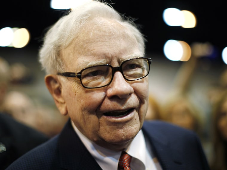 Berkshire Hathaway Chairman and CEO Warren Buffett (Rick Wilking/Reuters)