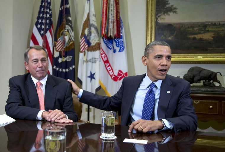 The White House and House Republicans may be closer to a deal that includes tax hikes.(AP Photo/Carolyn Kaster, File)