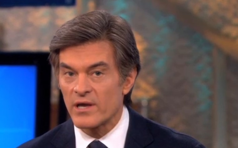 Dr. Oz on Wednesday's show.