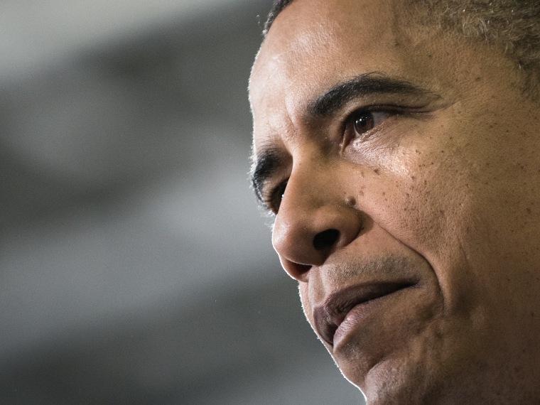 President Obama presses his advantage with first fiscal cliff proposal. (Brendan Smialowski / AFP)