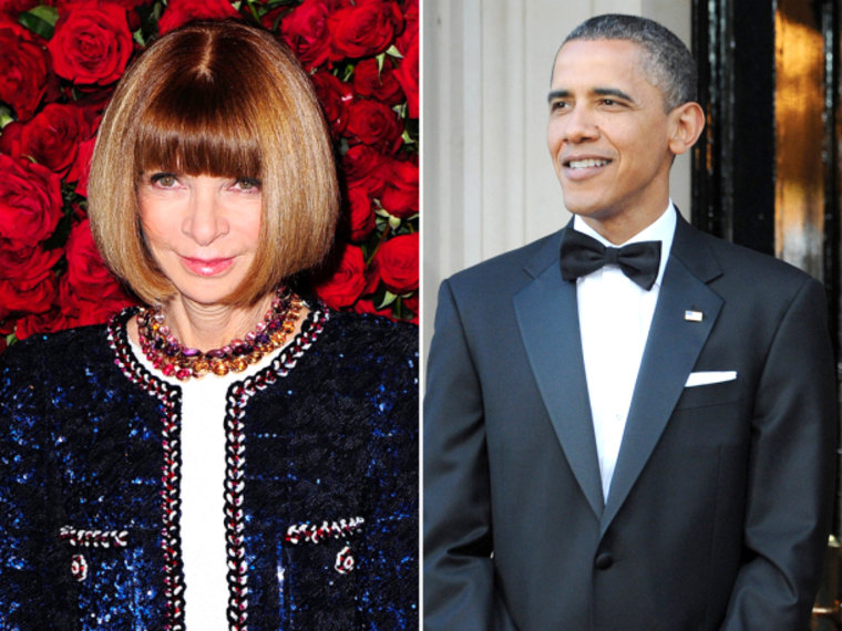 File Photo: US fashion editor Anna Wintour arrives at the Museum Of Modern Art fourth Annual Film Benefit: 'A Tribute To Pedro Almodovar' in New York, New York, USA, 15 November 2011. (Photo by AFP/Getty Images)...