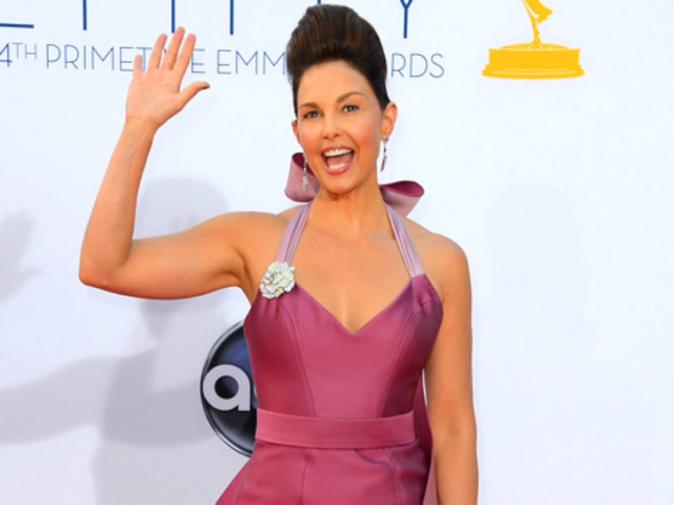 File Photo: Actress Ashley Judd arrives at the 64th Annual Primetime Emmy Awards at Nokia Theatre L.A. Live on September 23, 2012 in Los Angeles, California.  (Photo by Frazer Harrison/Getty Images)