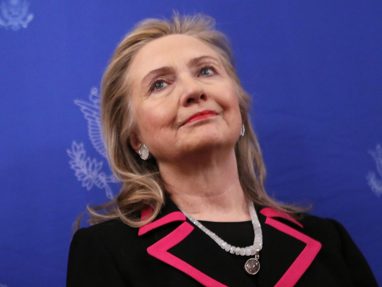 Hillary Clinton was originally asked to appear on the Sunday talk shows to talk about Benghazi. (Photo by Kevin Lamarque/REUTERS)