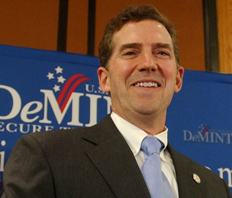 """Jim DeMint: \""""the CEO of the conservative movement\""""(AP Photo/Mary Ann Chastain)"""