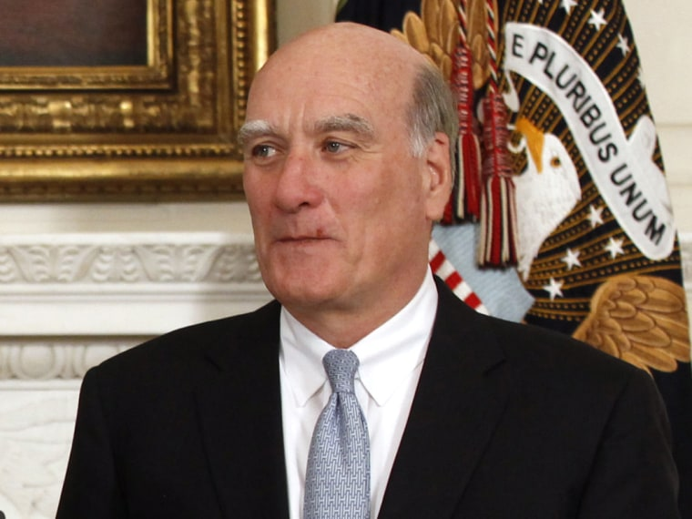Former White House chief of staff Bill Daley announced that he is forming a committee to explore running for governor in 2014, in Illinois. (Photo by Kevin Lamarque/Reuters/File)