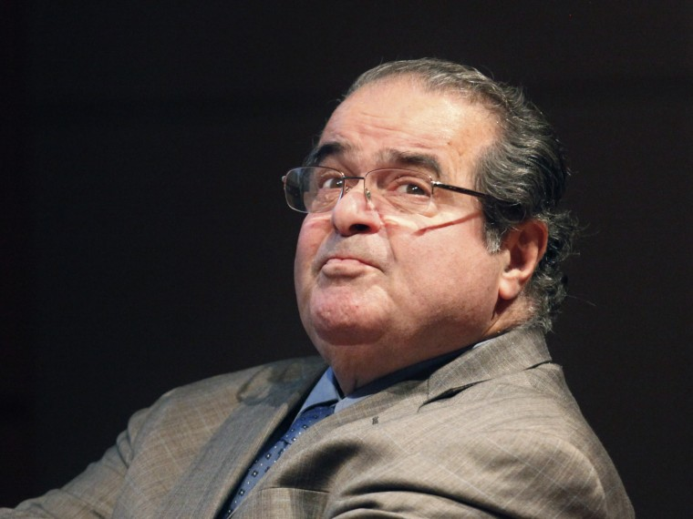 Supreme Court Justice Antonin Scalia. (Photo by Charles Rex Arbogast/AP Photo/File)