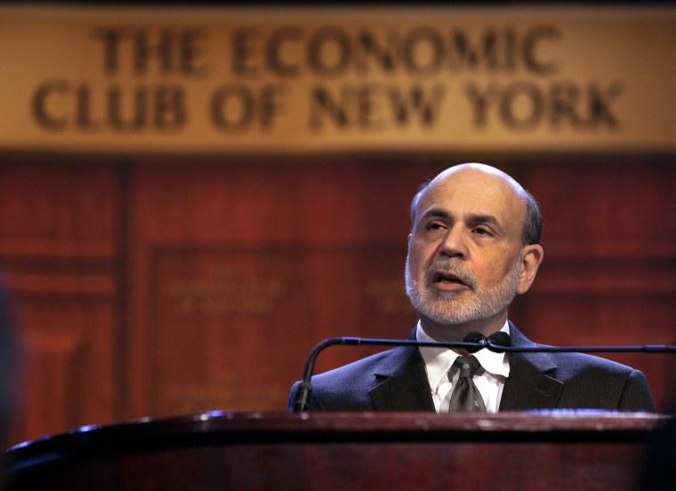 Federal Reserve Chairman Ben Bernanke announced  (AP Photo/Richard Drew)