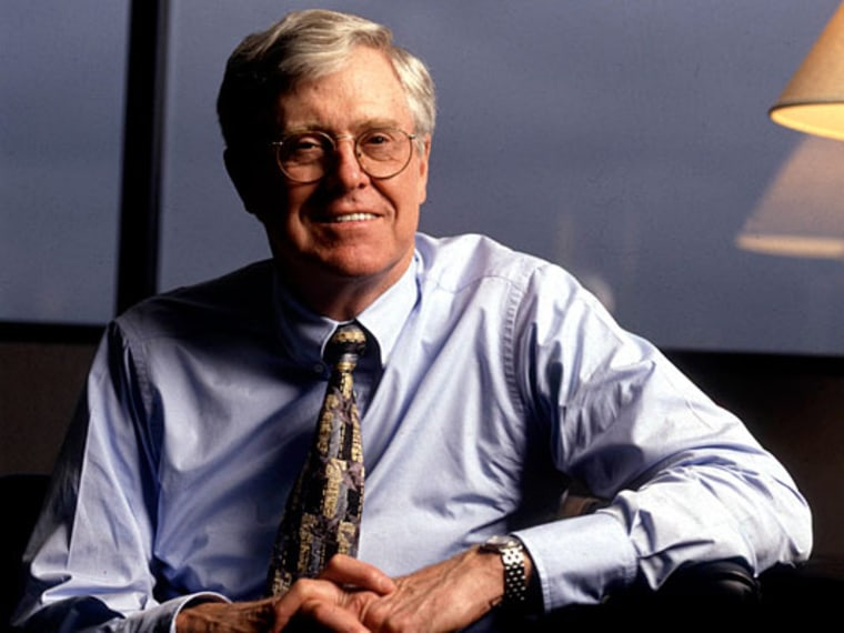 File Photo, undated. Image of  Charles Koch. (Photo by John Chiasson/Liaison via Getty Images/File)