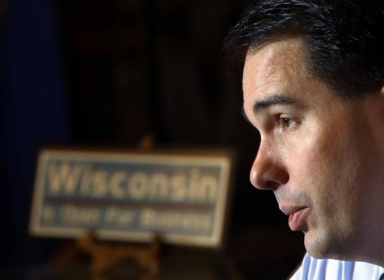 Wisconsin Gov. Scott Walker (Photo by Morry Gash/AP)