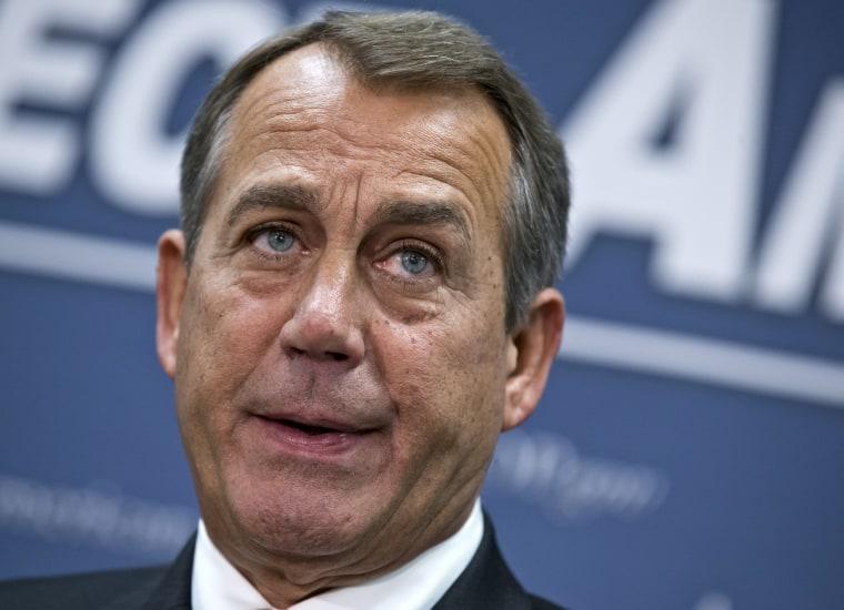 House Speaker John Boehner  (Photo by J. Scott Applewhite/AP Photo)