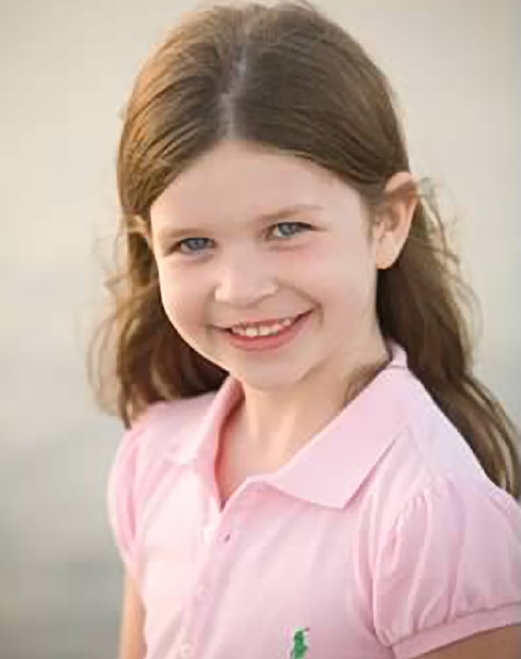Jessica Rekos, 6, was killed Friday, Dec. 14, 2012, when a gunman opened fire at Sandy Hook Elementary School, in Newtown, Conn., killing 26 children and adults at the school, before killing himself. (Photo courtesy of Rekos Family/AP)