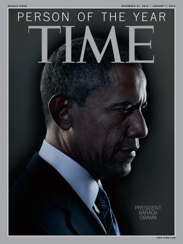"""Pres. Obama named Time Magazine's \""""Person of the Year\"""""""