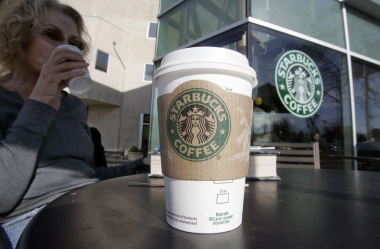 Starbucks CEO Howard Schultz announced a campaign to encourage Congress and the White House to cut a deal that would avert the fiscal cliff. (AP Photo/Paul Sakuma)