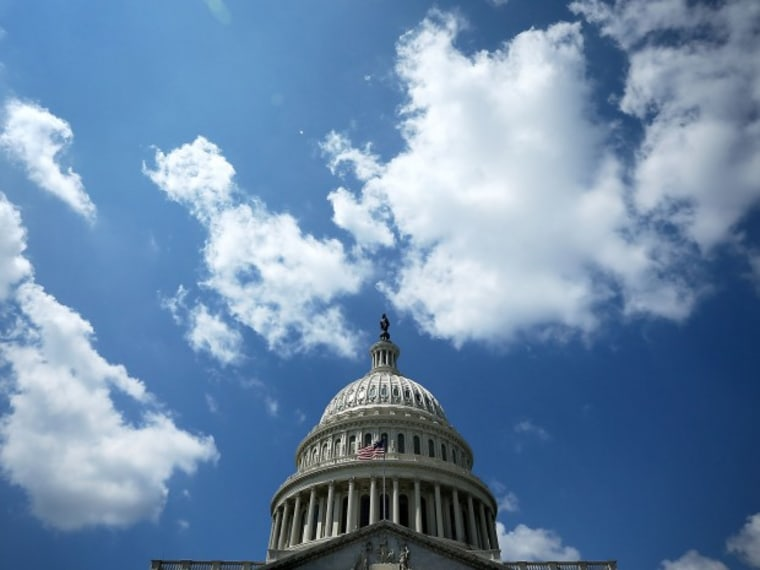 File Photo: The dome of the U.S. Capitol is seen on Capitol Hill August 28, 2012 in Washington, DC. (Photo by Alex Wong/Getty Images/File)