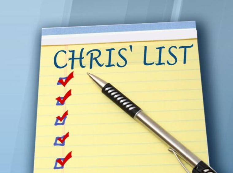 Chris' List (Jansing)