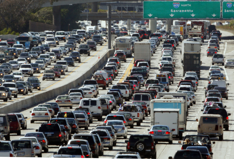 File Photo: Americans also said they preferred sitting in traffic to the Congress in a new PPP poll. (Photo by Reed Saxon/AP file)
