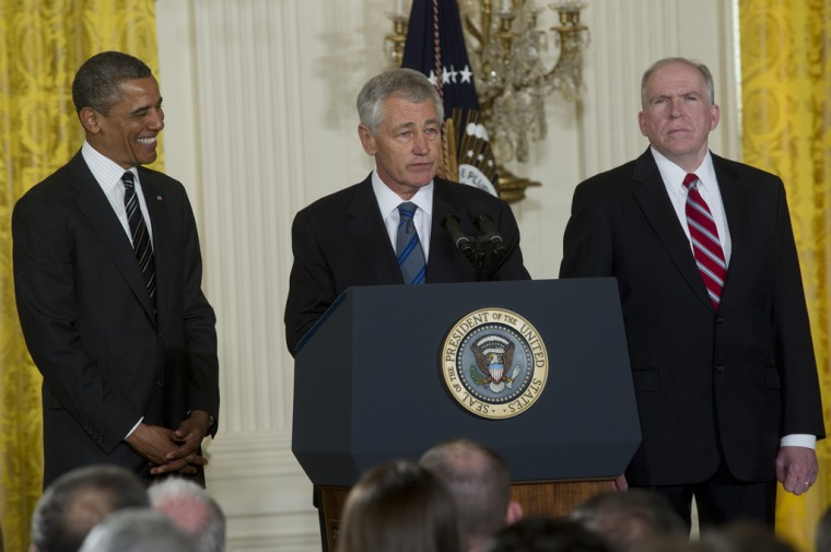 GOP's 'Chuck Hagel' not a favorite with critics.(photo courtesy Secretary of Defense Flickr page)