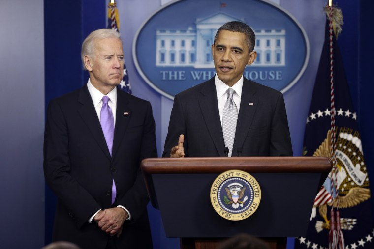 Vice President Biden kicks off a two-day gun control summit at the White House today.(AP Photo/Charles Dharapak)