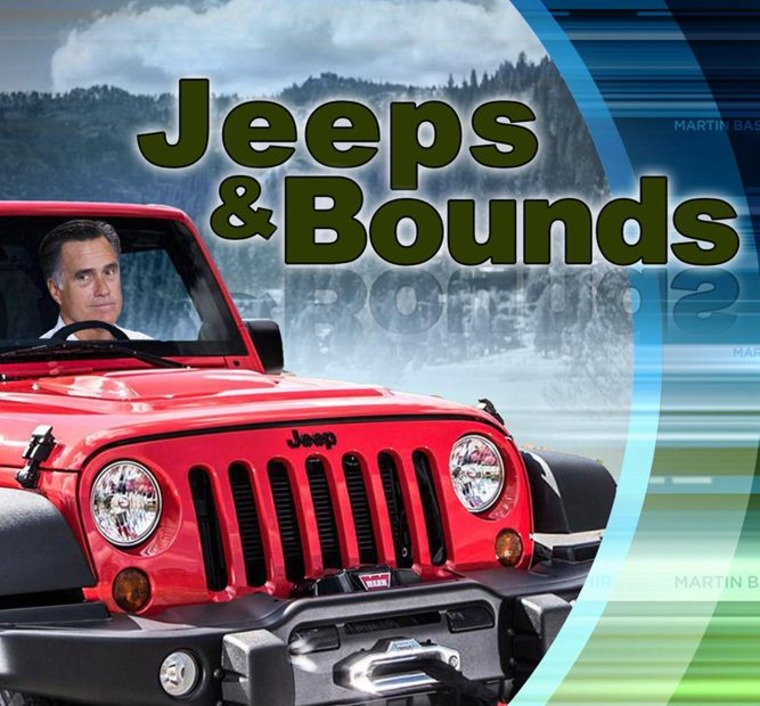 Jeeps year-end sales figures a fitting end to all things 2012. (Graphic courtesy of the Martin Bashir show)