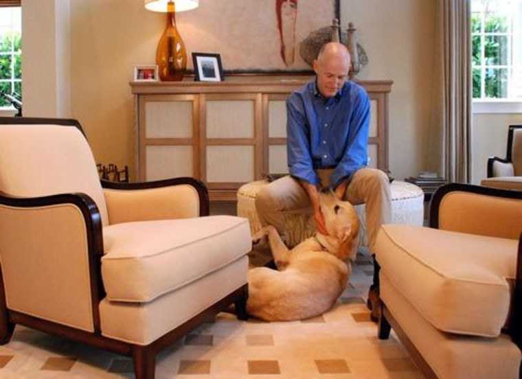 Florida's Gov. Rick Scott reportedly rejected Reagan ... the dog.(Michael Egger / Tampa Tribune)