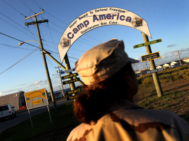 The internment center in Guantanamo Bay, Cuba. (Photo by John Moore/Getty Images, File)