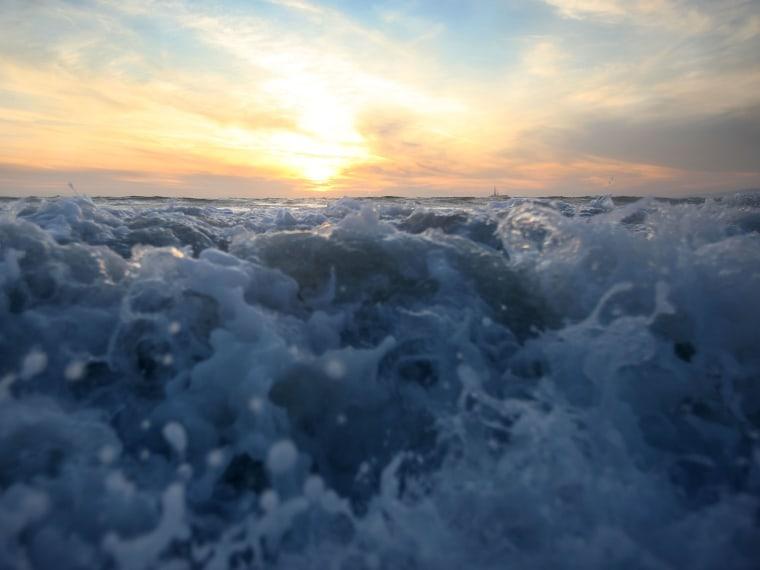 File Photo: Waves break on December 4, 2009 off Sunset Beach, California. A report released in Jan. 2013 called the California Climate Adaptation Strategy predicts that sea level rise will likely inundate many California coastal areas by 2050. (Photo...
