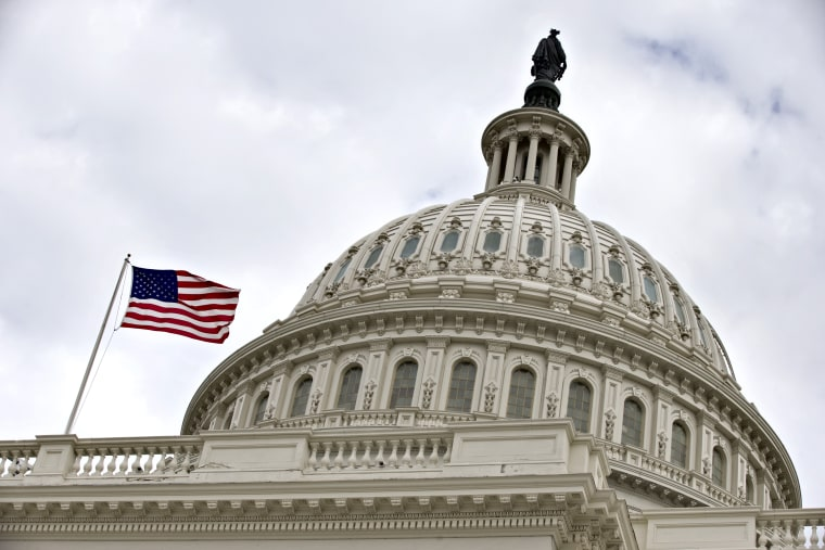 The Capitol dome is seen on Capitol Hill in Washington, Tuesday, Dec. 11, 2012,  (AP Photo/J. Scott Applewhite)
