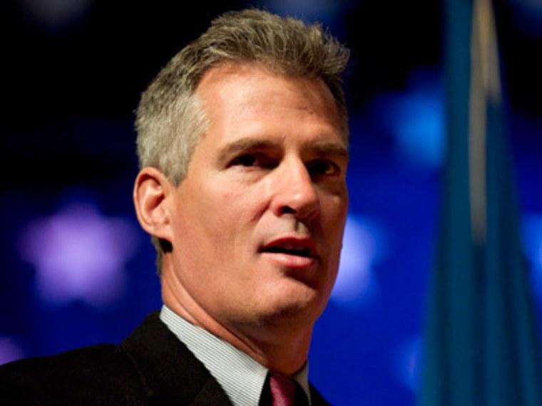Former Republican Sen. Scott Brown of Massachusetts (File photo by Steven Senne/AP)