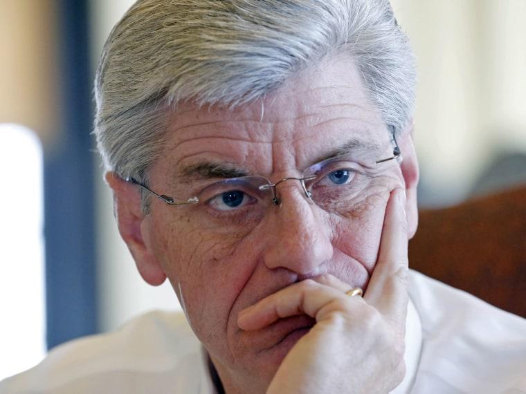 Republican Gov. Phil Bryant  (AP Photo/Rogelio V. Solis)