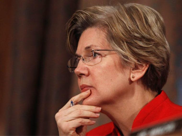 Sen. Elizabeth Warren of Massachusetts. (Photo by Gary Cameron/Reuters)