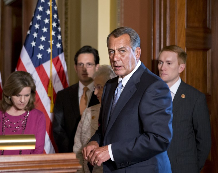 """Speaker John Boehner used the word """"ass"""" today. Other than that, no news on the sequestration fight. (AP Photo/J. Scott Applewhite)"""