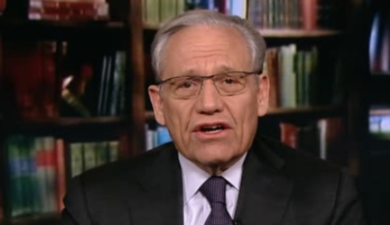 Bob Woodward's reporting on the Watergate scandal lead, in part, to the resignation of President Richard Nixon.