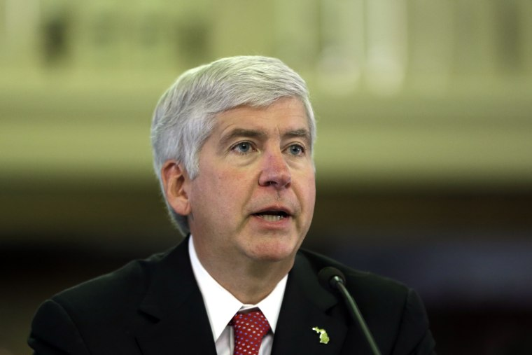 Michigan Gov. Rick Snyder (AP Photo/Carlos Osorio)