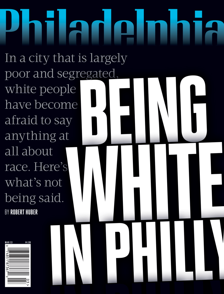 The cover of the Philadelphia Magazine issue in question.