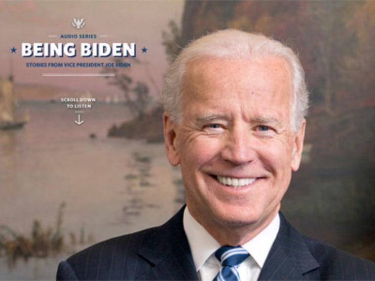 """Joe Biden just """"Being Biden."""" (WhiteHouse.Gov)"""
