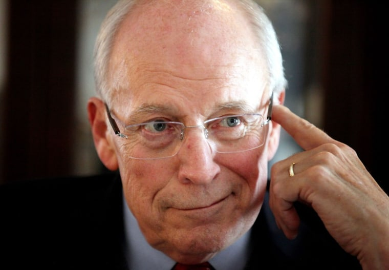 Former Vice-President, Dick Cheney at the Wardolf-Astoria Hotel in New York (Jane Mingay, Rex Features via AP Images)