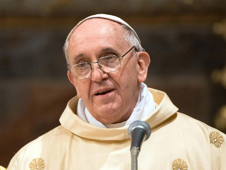 IMAGE IS NOT LICENSED FOR USAGE BEYOND 60 DAYS OF CREATE DATE Jorge Mario Bergoglio attends his first Mass with cardinals as Pope Francis in the Sistine Chapel on March 14, 2013 in Vatican City, Vatican. A day after thousands gathered in St Peter's...