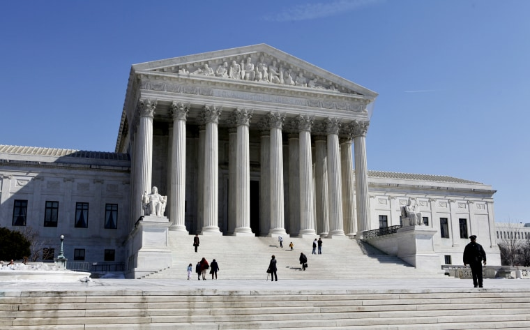 The U.S. Supreme Court building in Washington, D.C. (Photo by J. Scott Applewhite/AP File)