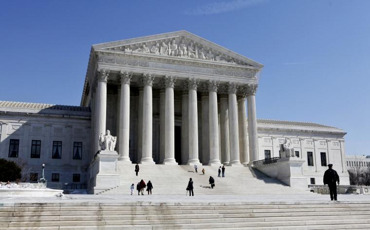 The U.S. Supreme Court building in Washington, D.C. (Photo by J. Scott Applewhite/AP File)