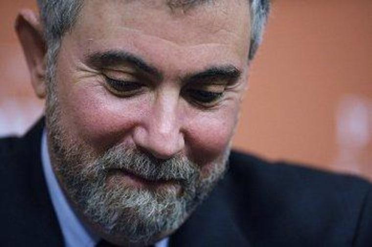 Satirical Krugman item trips up conservatives
