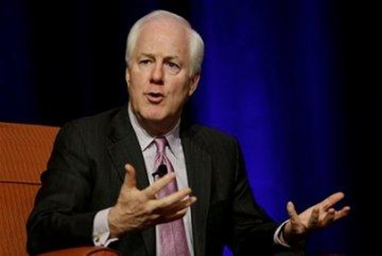 Cornyn hails VAWA law he opposed