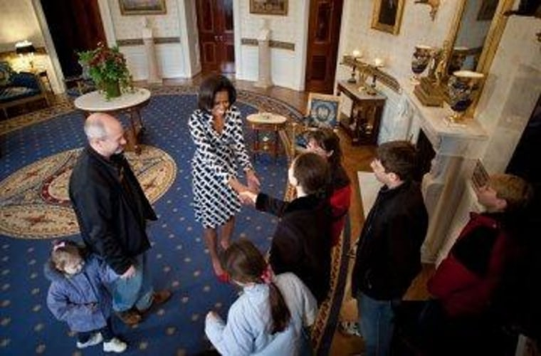 The odd preoccupation with White House tours