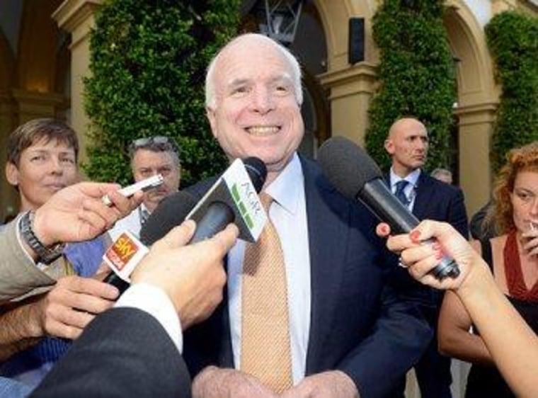 McCain laments 'wacko birds'