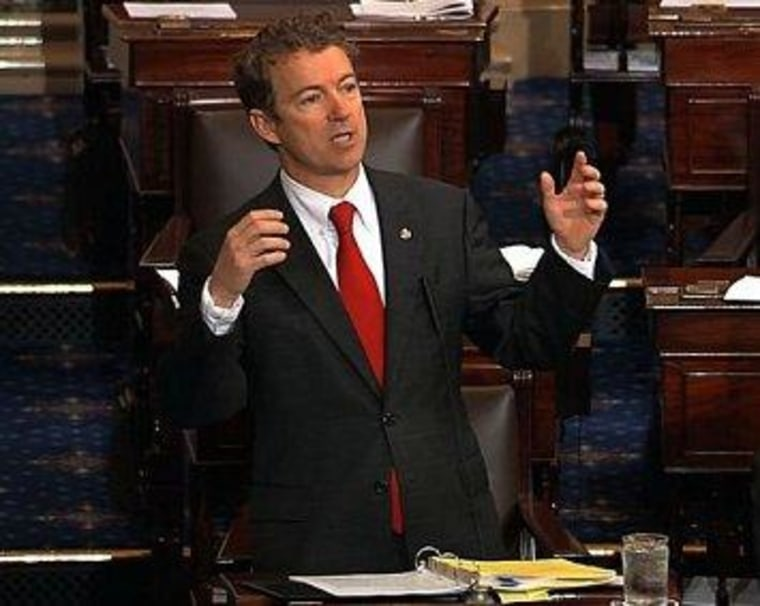 Rand Paul pushes his luck