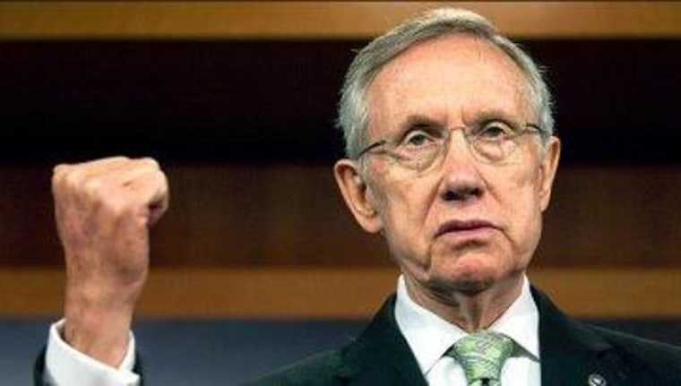 What Reid considers 'a filibuster'
