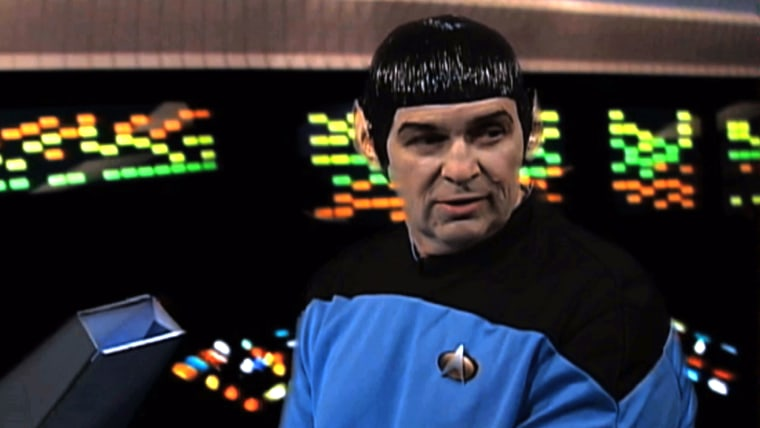 The Internal Revenue Service now admits it made a mistake when it spent $60,000 in taxpayer money to produce a video parodying the 1960s Star Trek television series. (AP Photo/IRS)