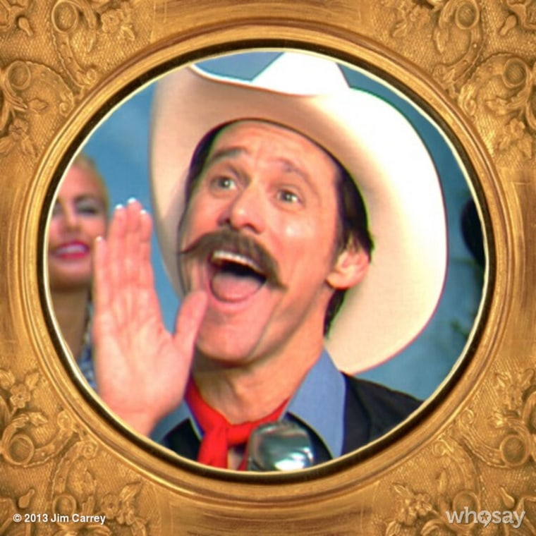 """Jim Carrey in the """"Funny or Die"""" spoof """"Cold Dead Hand."""" (Photo by Jim Carrey)"""