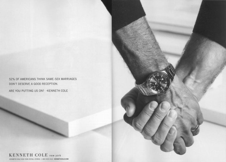 Kenneth Cole advertising