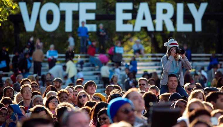 Obama winning Ohio 63-37 percent in early voting
