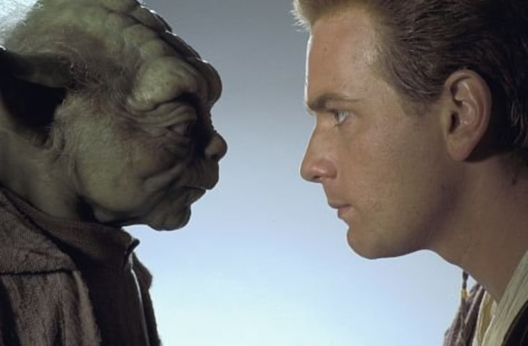 Barack Obama is to Obi Wan, as Mitt Romney is to...